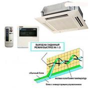 Кассетные кондиционеры | Daikin FCQ60C8/RXS60F Round Flow Inverter