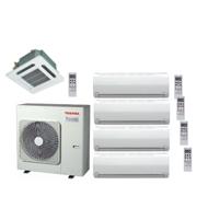 Мульти сплит-системы | Toshiba RAS-5M34UAV-E1 / RAS-M07SKV-E (4шт.) / RAS-M13SMUV-E