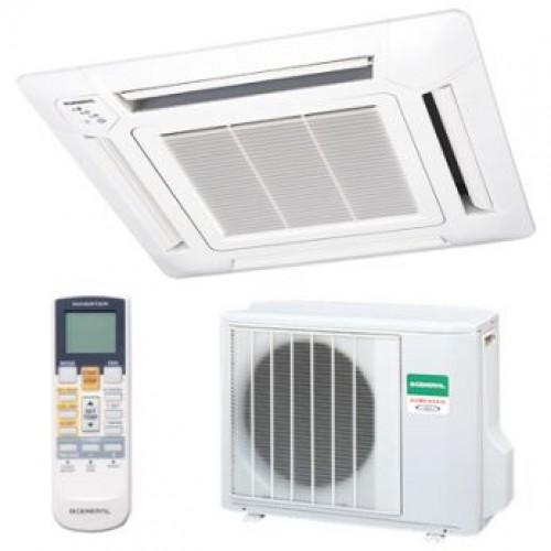 Кассетные кондиционеры | Fujitsu AUYG14LVLB/UTG-UFYD-W/AOYG14LALL Inverter