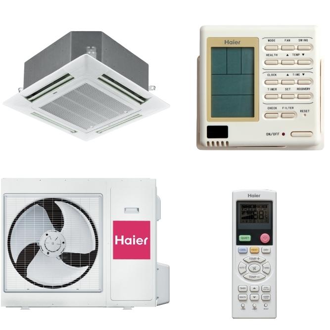Напольно-потолочные полупромышленные кондиционеры | Haier AC48FS1ERA\1U48LS1EAB Напольно-потолочная сплит-система