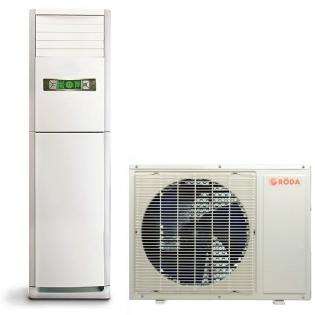 Колонные и шкафные полупромышленные кондиционеры | Roda RS-FS24AB/RU-24AC1