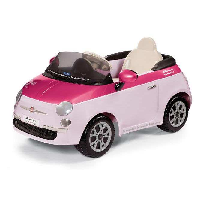 | Детский электромобиль Peg-Perego Fiat 500 pink (р/у) (IGED1164)