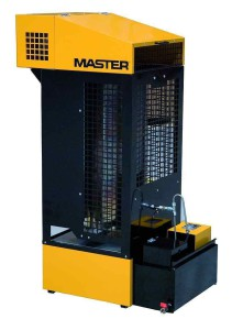 Тепловое оборудование Master | MASTER WA33 на отработанном масле