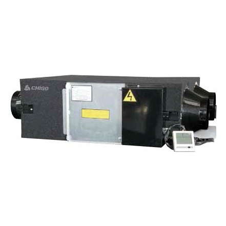 Компактные приточно-вытяжные установки | Chigo QR-X03DS Приточно-вытяжная вентиляционная установка с рекуперацией тепла