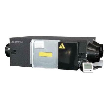 Компактные приточно-вытяжные установки | Chigo QR-X10D Приточно-вытяжная вентиляционная установка с рекуперацией тепла