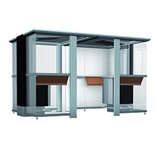 Курительные кабины и комнаты | Курительная кабина Euromate Smoke`n Go Plaza