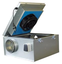 Вентиляционное и холодильное оборудование - АКЦИЯ! | Шумоизолированный вентилятор Systemair KVKE 125