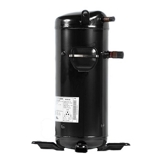 Спиральные компрессоры | Sanyo Scroll C-SBN453H8D компрессор спиральный, фреон R410A, 380V