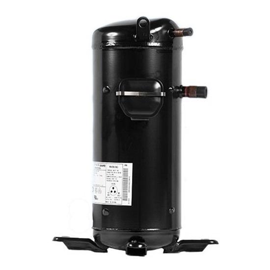 Спиральные компрессоры | Sanyo Scroll C-SBN453H8G компрессор спиральный, фреон R407C, 380V