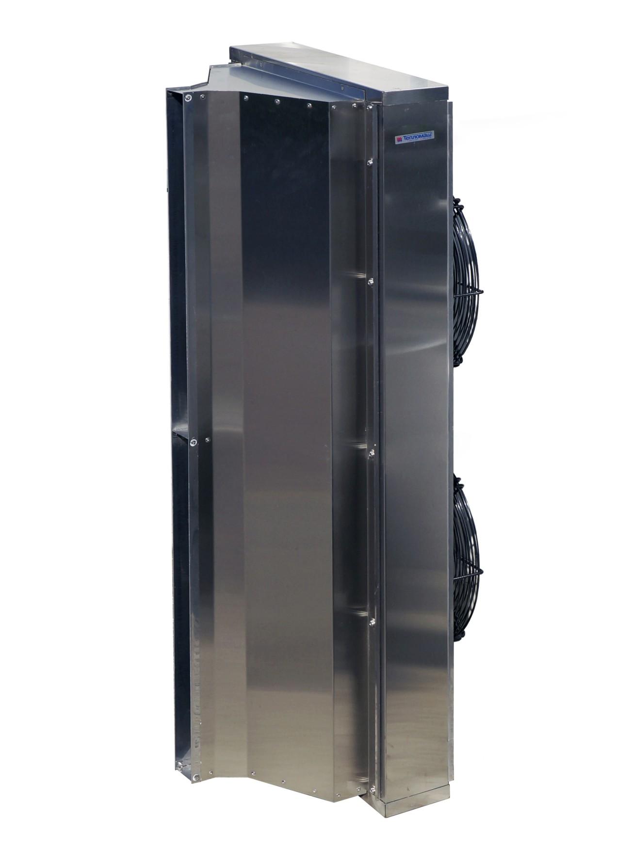 Тепловое оборудование Тепломаш | Тепломаш КЭВ-П4060А  нержавейка 400 IP 54 воздушная завеса без нагрева (нержавейка)