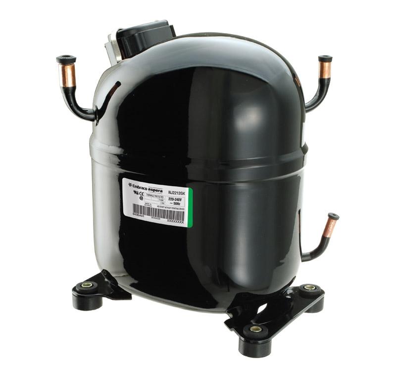 Поршневые компрессоры  | EMBRACO ASPERA NJ 7238 Е компрессор поршневой, фреон R-22, 220V