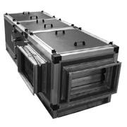 Компактные приточные установки   Korf UPS 90-50.4D-45/PP