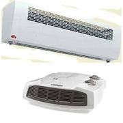Что выбрать тепловентилятор или тепловую завесу?