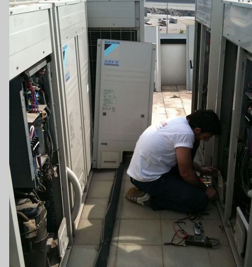 Сервисное обслуживание и ремонт VRV систем Daikin